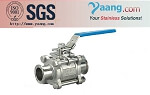 Stainless Steel 3PC Ball Valve Threaded and Flanged