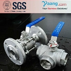 Stainless Steel 3PC Flange Ball Valve