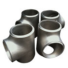 Stainless Steel Butt Welding Tee Pipe Fittings, Seamless and Welded with 100% X-ray