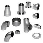 Stainless Steel Pipe Fittings in Various Sizes