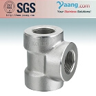 Stainless High Pressure Forged Fittings-Tee NPT