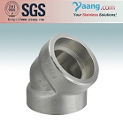 Stainless and Duplex Steel Forged Fittings-SW 45 Elbow