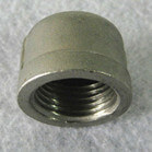 Threaded Pipe fittings Stainless Steel Tube End Caps