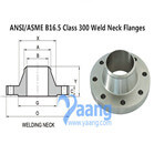 ANSI/ASME B16.5 Class 300 Weld Neck Flanges