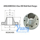 ANSI/ASME B16.5 Class 900 Weld Neck Flanges