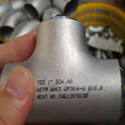 ANSI B16.9 ASTM A403 WP304L Equal Tee 1 Inch Sch40
