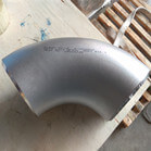 ANSI B16.9 ASTM A403 WP321 90Deg LR Elbow 4 Inch Sch40S