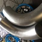 ANSI B16.9 ASTM A815 UNS32750 GR2507 90Deg 3D Bend DN200 SCH40S