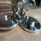 AS 2129 T/E 316L Threaded Bossed Flange FF 1-1/4 Inch