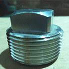 ASME B16.11 ASTM A182 316L Square Plug 1 Inch 3000LBS