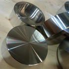 ASME B16.11 ASTM A182 F321 Socket Welding Cap 2 Inch 3000LBS