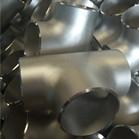 ASME B16.9 ASTM A403 WP304 Equal Tee DN90 Sch40S