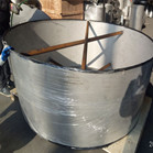 ASME B16.9 ASTM A403 WP316L Welded Concentric Reducer DN2000XDN1800 SCH40