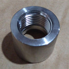 ASTM A182 F53 Threaded NPT Half Coupling 1 Inch CL3000