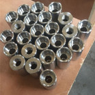 ASTM A182 F53 Threaded NPT Reducing Coupling CL3000