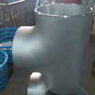 ASTM A182 UNS32750 GR2507 Seamless Equal Tee 200NB SCH40S