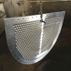 Duplex Stainless Steel 2205 Center Baffle Thk: 32MM OD: 986MM Use For Heat Exchanger