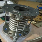 EN1092-01 ASTM A182 F316 Bellow Expansion Joint Flanged DN80 PN10