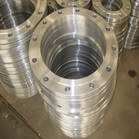 JIS B2220 20k DN350 Stainless Steel Plate Flange ASTM A182 F304l