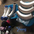 SDUP ASTM A790 UNS32750 GR2507 90 Degree 3D Bend SCH40S DN200