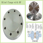 stainless steel blind flange with female face