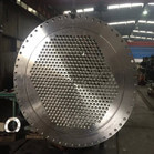 Super Stainless Steel 2507 Tube Plate Use For Heat Exchanger