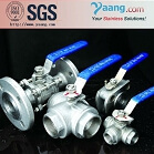 two pieces stainless steel Ball Valve 1000 WOG